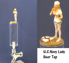 Navy lady  as beer tap
