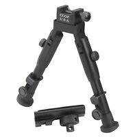 "6"" Badger CCOP Tactical Picatinny Mount Bipod with Swivel Stud Adapter BP-59mini"
