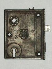 """Antique Norwalk Rim Lock  3 5/16"""" x 4 1/16"""""""