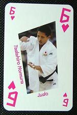 1 x playing card London 2012 Olympic Legends Todahiro Nomura Judo 6H