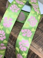 laverslace Green Military Army Camouflage Satin Ribbon 25mm Crafts Trim