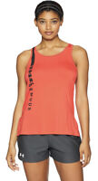 Under Armour Women's HeatGear Armour Scoop Neck & Open Back Tank Top NWT Large