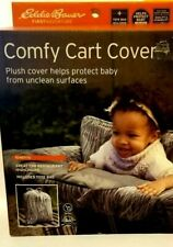 Eddie Bauer Comfy Cart Cover & High Chair Cover, Gray/White