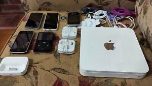 Apple iphone ipod Cords Apple Tv Accessories Lot