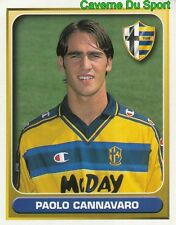 287 PAOLO CANNAVARO ITALIA AC.PARMA FIGURINE STICKER CALCIO MERLIN 2000-2001