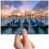 "Venice Italy Canal Gondola - Small Photograph 6"" x 4"" Art Print Photo Gift #8991"
