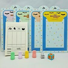 Vintage The Baby Sitters Club GAME MB 4013 Replacement Parts Tokens Dice Pads