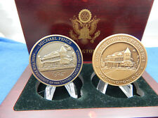 VICE PRESIDENT MIKE PENCE & SECRET SERVICE PROTECTION VP RESIDENCE 2 COIN SET
