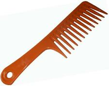 25CM LARGE ARGAN OIL INFUSED DETANGLING COMB BATH/SHOWER COMB HAIR HAIRCARE AFRO