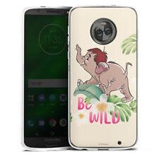 Lenovo MOTO g6 PLUS IN SILICONE GUSCIO Case Cellulare-Be Wild!