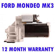 Ford mondeo mk3 2.0 16V 2000 2001 2002 - 2007 starter motor 12 month warranty