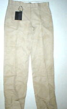 New NWT Womens Designer Calvin Klein Collection Pants 10 46 Italy Beige Tan Tall