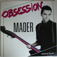 """MADER   (Maxi 45T 12"""")     Obsession"""