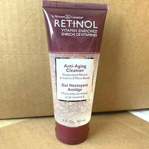 LdeL Retinol Vitamin E Anti-Aging Gel Cleanser 5 oz Skincare Cosmetics