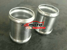 """2pcs 64mm 2.5"""" Aluminum Hose Joiner Short Pipe Intercooler Connector Silicone"""