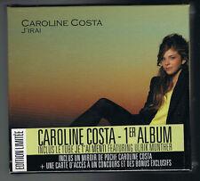 CAROLINE COSTA - J'IRAI - ÉDITION LIMITÉE - COFFRET NEUF NEW NEU