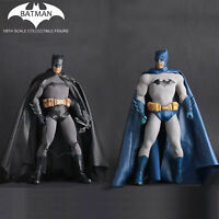 1/6 Scale DC Comics Batman Action Figure Toys Crazy Toys Statue Boxed Blue&Black