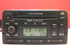 FORD 6006E 6 CD RADIO PLAYER AND CODE FIESTA MONDEO FOCUS TRANSIT PUMA ESCORT