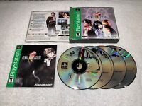 Final Fantasy VIII (PlayStation 1) PS1 Greatest Hits Game w/Manual in Case Exc!