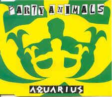PARTY ANIMALS - Aquarius 5TR CDM 1996 / GABBER / HAPPY HARDCORE