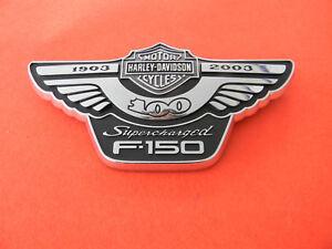 Harley Davidson 100th Anniversary Ford truck EMBLEM  new/old w/ original box