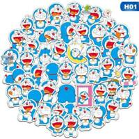 61 Pcs Doraemon Car Stickers Car Stickers Car Stickers Waterproof Stickers Cxz