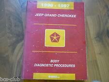#J044 JEEP GRAND CHEROKEE 1996 1997 KAROSSERIE Diagnose WERKSTATT HANDBUCH