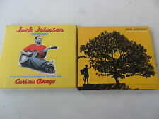 2 x Jack Johnson CD - In Between Dreams/Curious George - 2 x Digipack - gut