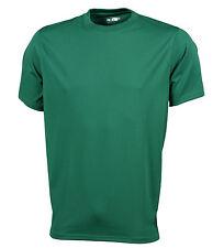 Maglie e top da uomo verde per palestra, fitness, corsa e yoga taglia S