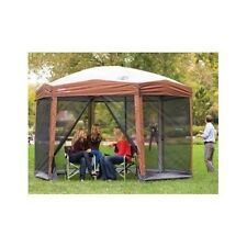 Gazebo Canopy Camping Tent Instant Large Screened Shelter Outdoor Patio Party