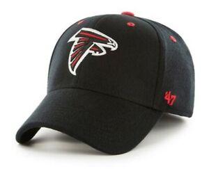 Atlanta Falcons hat cap 47 Brand Contender L/XL black red stretch fit new nwt