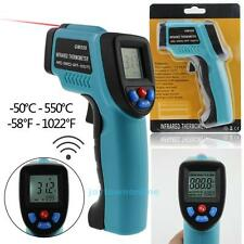 Home Non-Contact IR Infrared Digital LCD Temperature Thermometer Laser Point Gun