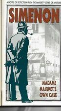 GEORGES SIMENON - Madame Maigret's Own Case P/B