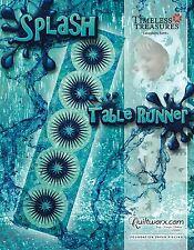 Splash Tablerunner Paper Piecing Pattern by Judy Niemeyer