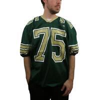 Vintage Rawlings 80s Men's Nylon Football Jersey XL Authentic Green Shirt 90s