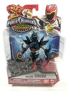 "POWER RANGERS Dino Super Charge Villain SNIDE 5"" Figure - BanDai NEW"