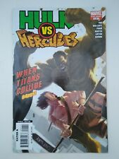 """Hulk vs. Hercules One-Shot (FN+) """"When Titans Collide"""" Marvel 2008"""