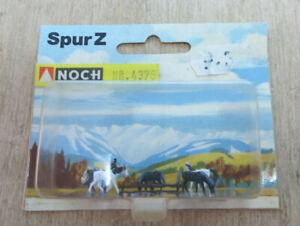 Noch 4375 Z Gauge Horses Boxed