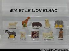 SERIE COMPLETE DE FEVES MIA ET LE LION BLANC  2019