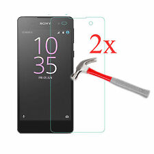 2Pcs Premium Tempered Glass Film Screen Protector Guard Cover For Sony Xperia E5