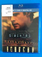 Blackhat  Blu-ray disc  & case RENTAL   (BILINGUAL)