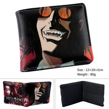 anime Hellsing wallets cosplay Bifold leather pu Purse Xq01