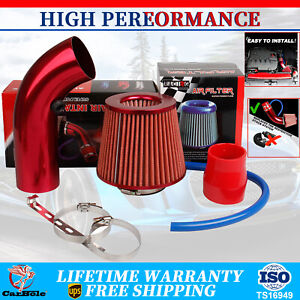 Pipe Cold Air Intake Filters Induction Kits Power Flow Hose System Car Accessory
