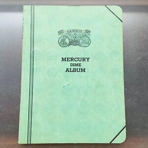 1916-1945 Mercury Dime Album