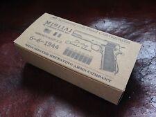 Empty AMMO BOX WW2 replica 45 ACP 1911 M1911A1 D-DAY limited edition 1944 39 45