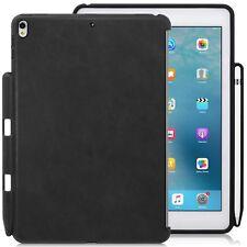 Apple iPad Pro 10.5 Back Case PU Leather W/ Pen Slot Smart keyboard Compatible
