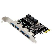 4 Scheda di Espansione Pci Express Port Usb 3.0 Pcie Pci-E Controller Host J9Z7