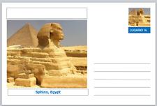 "Landmarks - souvenir postcard (glossy 6""x4""card) - Sphinx, Egypt"