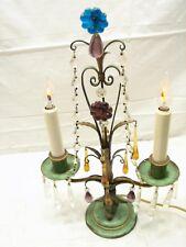 Antique Crystal Candelabra Ebay