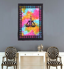 Meditation Cotton Poster Bohemian Wall Tapestry Home Decor Wall Hanging Poster